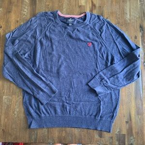 5/$25 American Eagle blue classic fit sweater